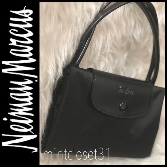 6fa6719c37f1 Neiman Marcus Bags | Black Tote Bag | Poshmark
